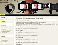 Thomas Nowara Blog