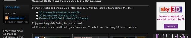 More 3D content