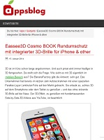 Exposition of new COSMO BOOK at appsblog.de